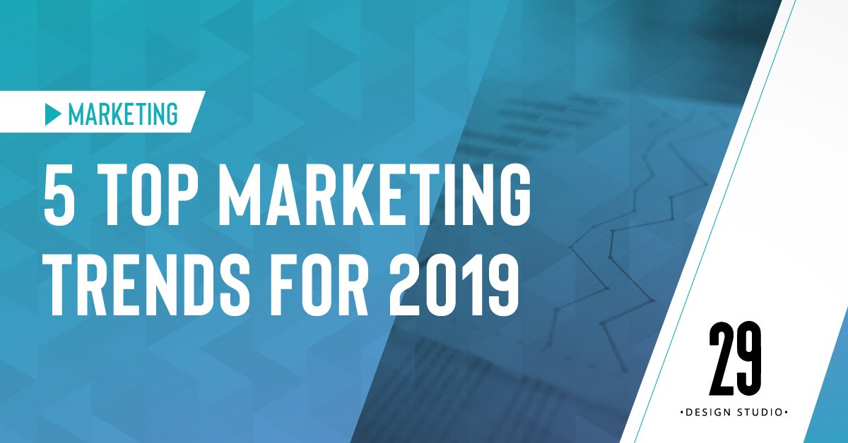 Teaser image - 5 Top Marketing Trends for 2019