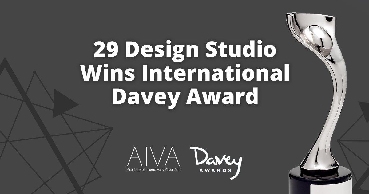 Teaser image - 29 Design Studio Wins International Davey Award
