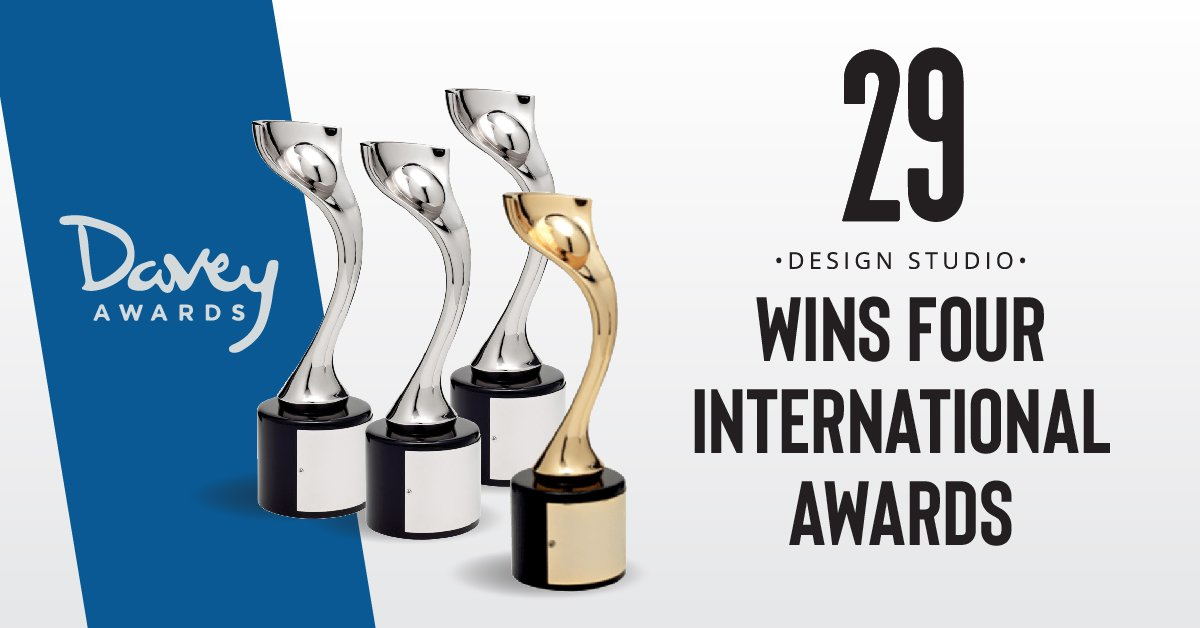 Teaser image - 29 Design Studio Wins Four International Awards