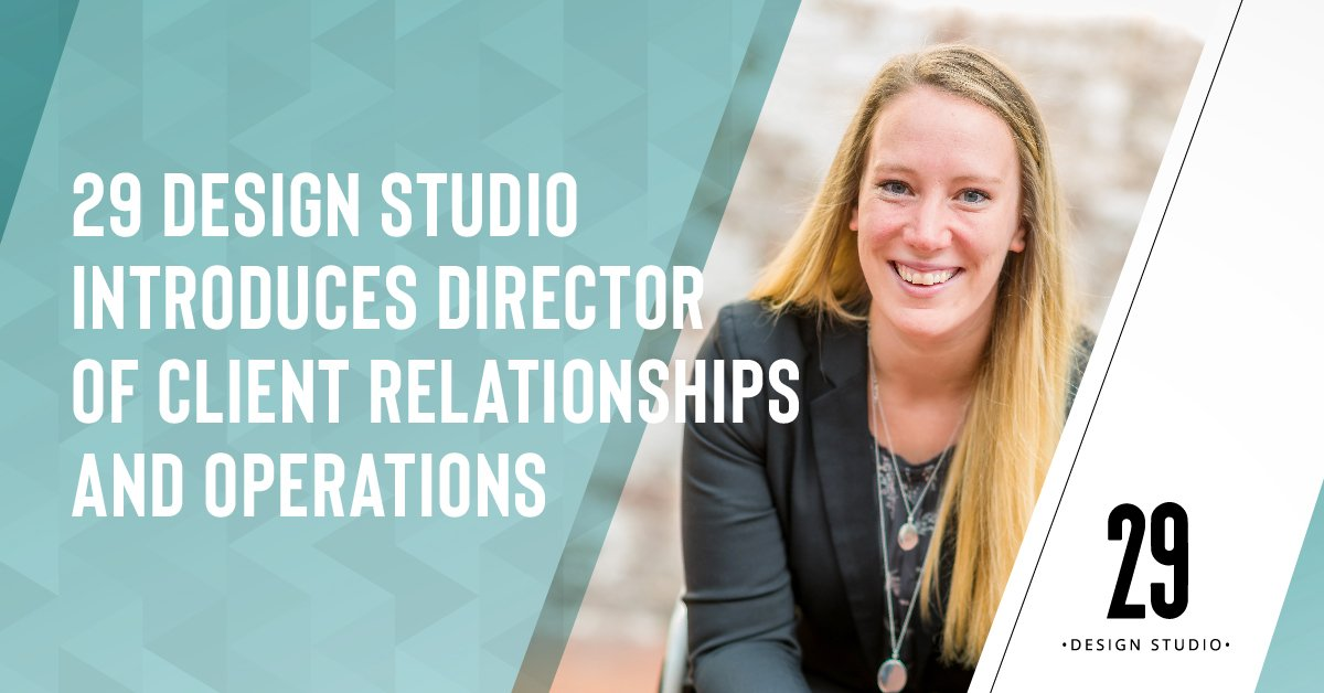 Teaser image - 29 Design Studio Introduces Director of Client Relationships and Operations