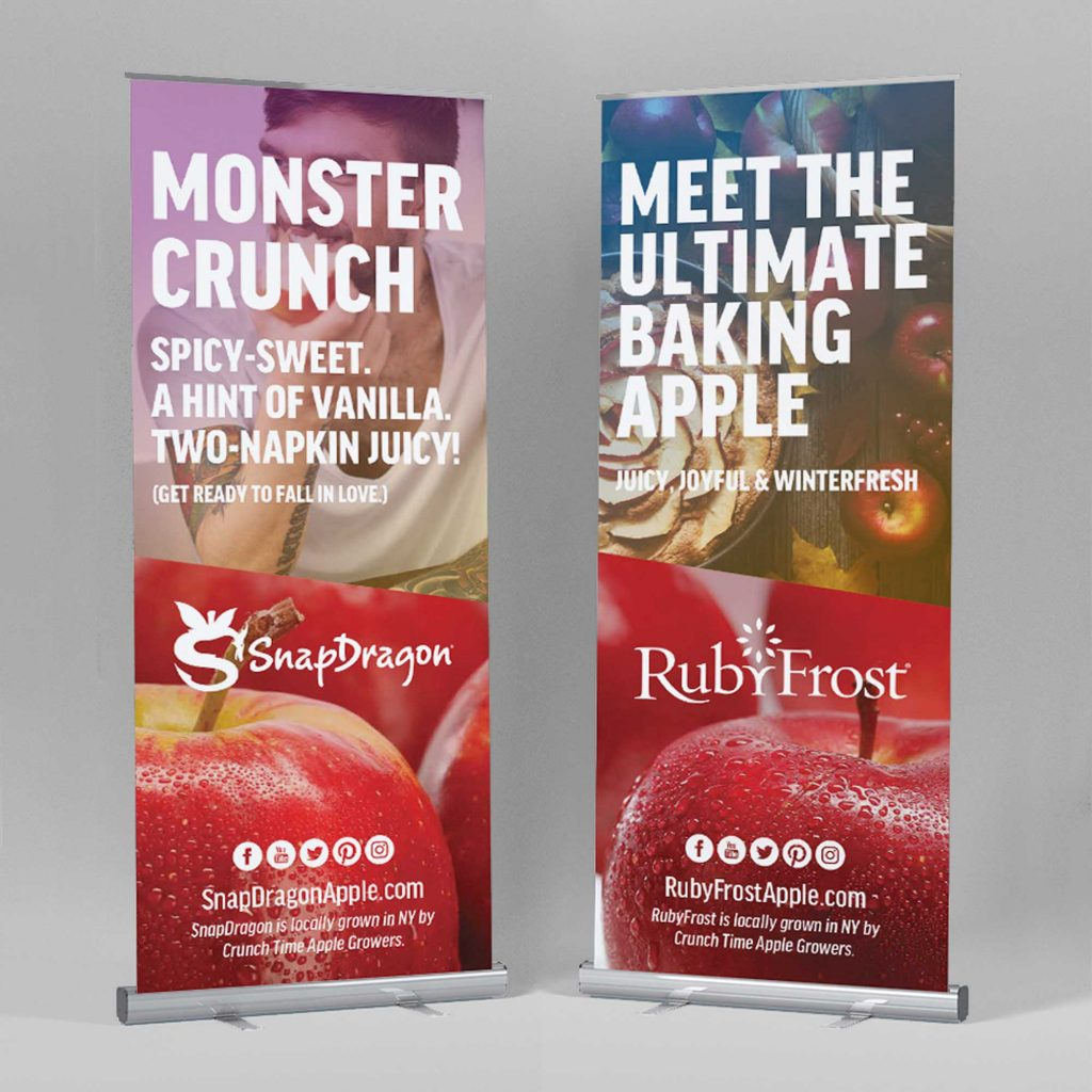SnapDragon RubyFrost Apples Branding Upstate New York
